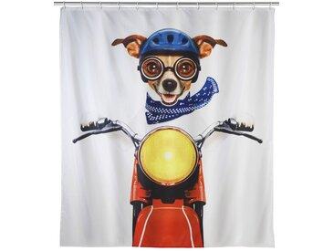 Zurbrüggen Duschvorhang Biker Dog, multicolour, Polyester