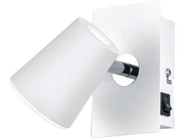 Trio Leuchten LED-Spot NARCOS,1x6W LED NARCOS, Weiß, Metall
