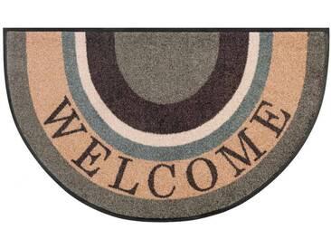 Kleen-Tex Fußmatte Round Welcome, multicolour, Polyamid