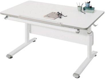 Paidi Schreibtisch DIEGO, Weiß, Holznachbildung