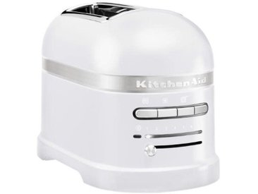 Kitchen Aid 2-er Toaster Frosted Pearl, Weiß, Aluminium