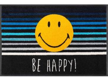 Kleen-Tex Fußmatte Smiley Be Happy, multicolour, Polyamid