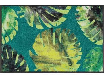 Kleen-Tex Fußmatte Philo Leaves, grün, Polyamid
