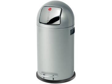 Hailo Großraum-Abfallbox 28L silber, silber, Stahl