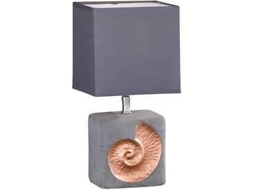 Fischer Leuchten Tischleuchte Shell SHELL, grau, Metall