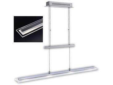 Fischer Leuchten Pendelleuchte Tenso RGBW, chrom, Metall