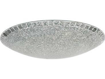 Nino Leuchten Deckenleuchte 1flg AMALFI, silber, Glas