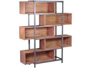 Bücherregal III BALI, akazie, Holz