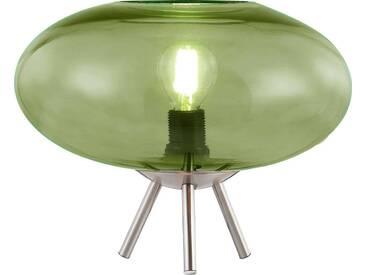 Nino Leuchten Tischleuchte 1flg LILLE, grün, Metall