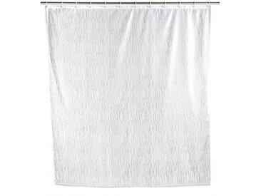 Zurbrüggen Duschvorhang Deluxe Weiß, Weiß, Polyester