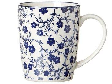 Ritzenhoff & Breker Kaffeebecher 350ml ROYAL SAKURA, blau, Porzellan