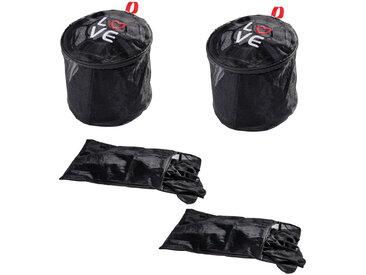 Zurbrüggen Wäschenetz-Set, schwarz, Polyester