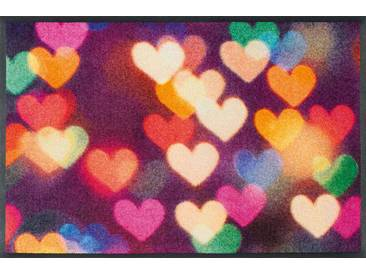 Kleen-Tex Fußmatte City Hearts, multicolour, Polyamid