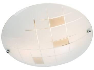 Nino Leuchten Deckenleuchte 2-flg. Jonna, transparent, Glas