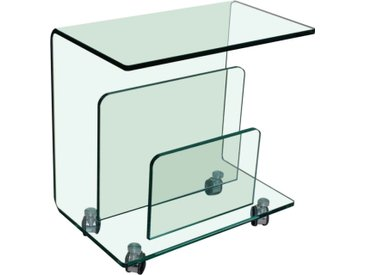 BOXXX Zeitungsständer TRIO, klar, Glas