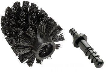Zurbrüggen Ersatzbürste Ø 7,5 cm, schwarz, Kunststoff