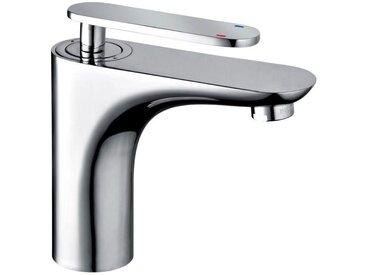 XORA Waschtischarmatur XR-350, Silber, Chrom