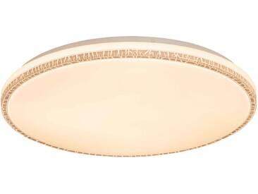 Nino Leuchten LED Deckenleuchte NARA, Weiß, Kunststoff