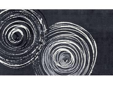 Kleen-Tex Fußmatte Swirl, grau, Polyamid