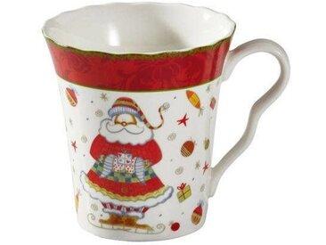 Zurbrüggen Kaffeebecher X-MAS DEKOR, multicolour, Porzellan