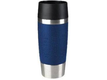 Emsa Isolierbecher 0.36l TRAVEL MUG, blau, Edelstahl