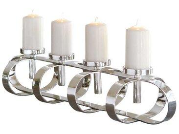 Fink GORDEN Leuchter 4-flammig, chrom, Nickel