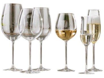 SCHOTT ZWIESEL Sekt-Glas ELEGANCE, Weiß, Glas