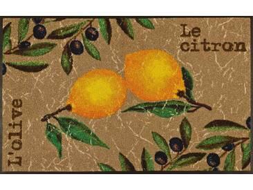 Kleen-Tex Fußmatte Le Citron, multicolour, Polyamid