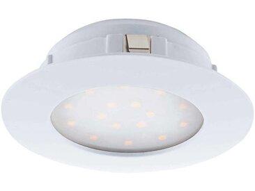 Eglo Leuchten LED-Einbauspot Pineda, Weiß, Kunststoff