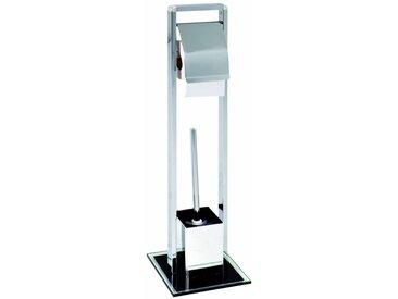 Zurbrüggen WC-Garnitur, chrom, Stahl
