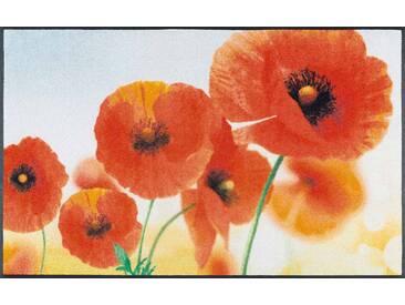 Kleen-Tex Fußmatte Sunny Poppy, rot, Polyamid