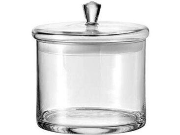 Leonardo Dose 20x18cm TOP, transparent, Glas