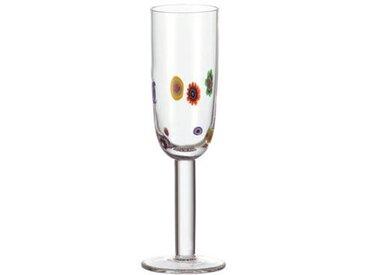 Leonardo Sektglas MILLEFIORI, Mehrfarbig, Glas