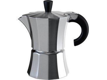 Espressokocher MOROSINA 1Tasse, silber, Aluminium