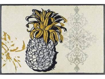 Kleen-Tex Fußmatte Golden Pineapple, beige, Polyamid