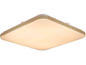 Nino Leuchten LED Deckenleuchte TAMA, Weiß, Kunststoff