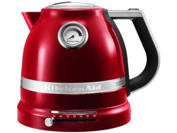 Kitchen Aid Wasserkocher Liebesapfel, Rot, Aluminium