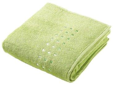 Zurbrüggen Duschtuch 70x140cm grün Quattro, grün, Baumwolle