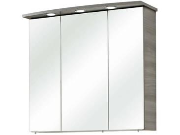 Pelipal Spiegelschrank PETER, grau, Holznachbildung
