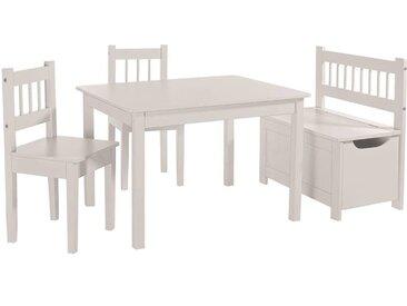 MyBaby Kindersitzgruppe, Weiß, Holz