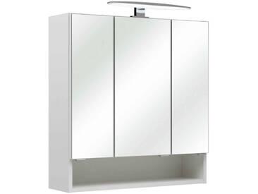 Pelipal Spiegelschrank LINA, Weiß, Holznachbildung