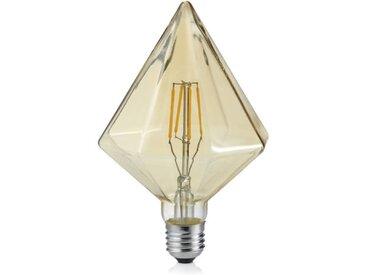 Trio Leuchten LED-Glas-Filament-LM E27, transparent, Metall