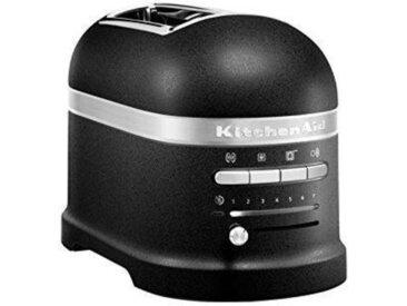 Kitchen Aid 2-er Toaster Guss Schwarz, schwarz, Aluminium