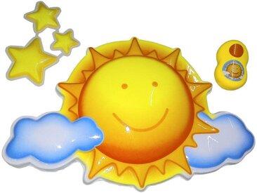 Bieco Nachtlicht mit Musik Sonne, multicolour, Kunststoff