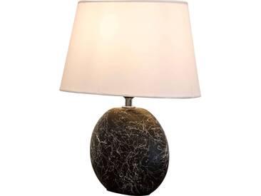 Nino Leuchten Tischleuchte 1flg SAMMY, schwarz, Keramik
