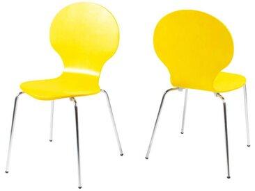 Z2 Stuhl MARCUS, gelb, Kunststoff
