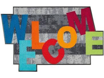 Kleen-Tex Fußmatte Crazy Welcome, multicolour, Polyamid