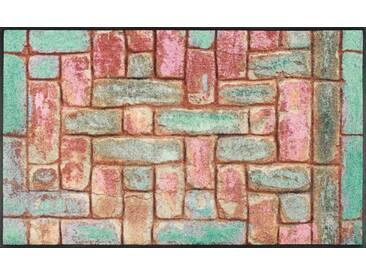 Kleen-Tex Fußmatte Pretty Bricks, multicolour, Polyamid