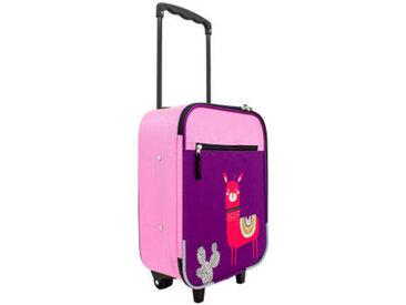 Zurbrüggen Kinderkoffer Lama 29cm, Pink, Polyester