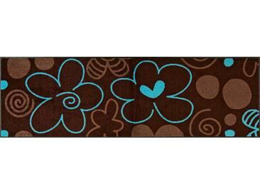 Kleen-Tex Fußmatte Amazone Valentine, braun, Polyamid